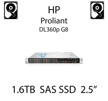 "1.6TB 2.5"" dedykowany dysk serwerowy SAS do serwera HP ProLiant DL360p G8, SSD Enterprise  - 762751-001 (REF)"