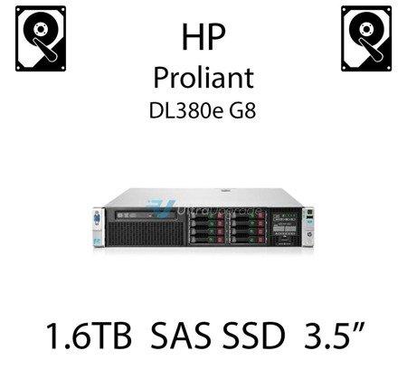 "1.6TB 3.5"" dedykowany dysk serwerowy SAS do serwera HP ProLiant DL380e G8, SSD Enterprise , 1.2GB/s - 762272-B21 (REF)"