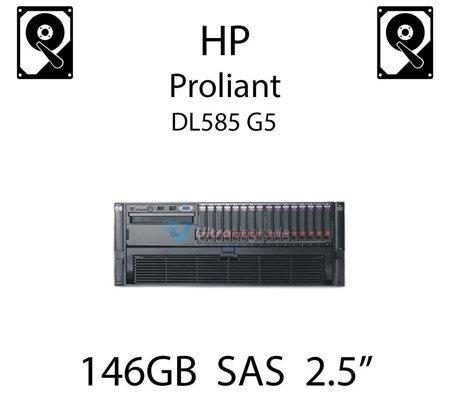 """146GB 2.5"""" dedykowany dysk serwerowy SAS do serwera HP ProLiant DL585 G5, HDD Enterprise , 300MB/s - 431958-B21 (REF)"""