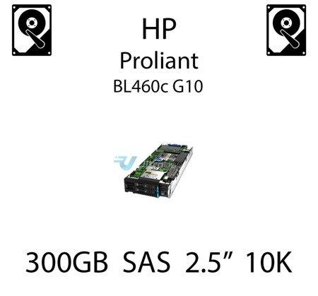 """300GB 2.5"""" dedykowany dysk serwerowy SAS do serwera HP ProLiant BL460c G10, HDD Enterprise 10k, 12Gbps - 872475-B21"""