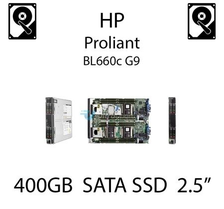 "400GB 2.5"" dedykowany dysk serwerowy SATA do serwera HP ProLiant BL660c G9, SSD Enterprise , 6Gbps - 692166-001 (REF)"