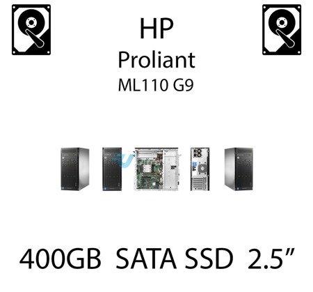 "400GB 2.5"" dedykowany dysk serwerowy SATA do serwera HP ProLiant ML110 G9, SSD Enterprise , 6Gbps - 692166-001 (REF)"