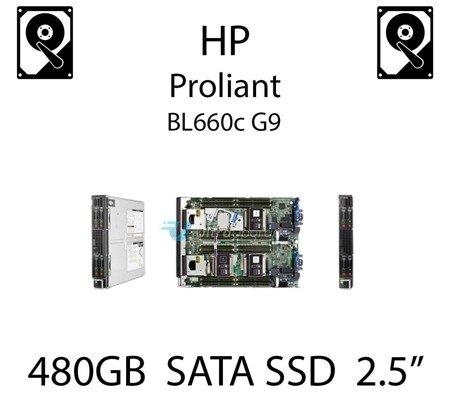 """480GB 2.5"""" dedykowany dysk serwerowy SATA do serwera HP ProLiant BL660c G9, SSD Enterprise  - 718138-001 (REF)"""