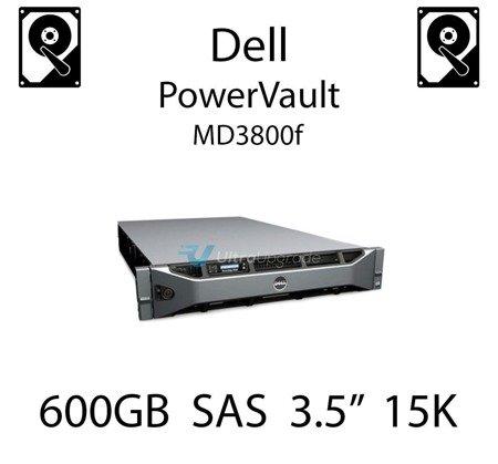 """600GB 3.5"""" dedykowany dysk serwerowy SAS do serwera Dell PowerVault MD3800f, HDD Enterprise 15k, 6Gbps - T873K"""