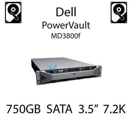 """750GB 3.5"""" dedykowany dysk serwerowy SATA do serwera Dell PowerVault MD3800f, HDD Enterprise 7.2k, 320MB/s - JW551"""