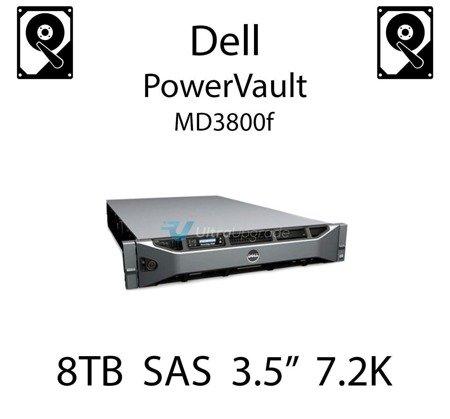 """8TB 3.5"""" dedykowany dysk serwerowy SAS do serwera Dell PowerVault MD3800f, HDD Enterprise 7.2k, 12Gbps - GKWHP"""