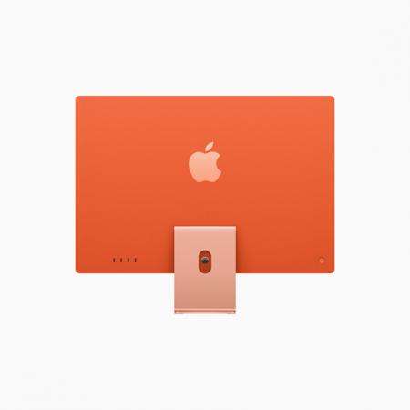 Apple iMac 24 Retina 4.5K Procesor M1 8 rdzeni 3,2GHz, GPU 8 rdzeni  SSD 512GB RAM 8GB Pomarańczowy (Orange)