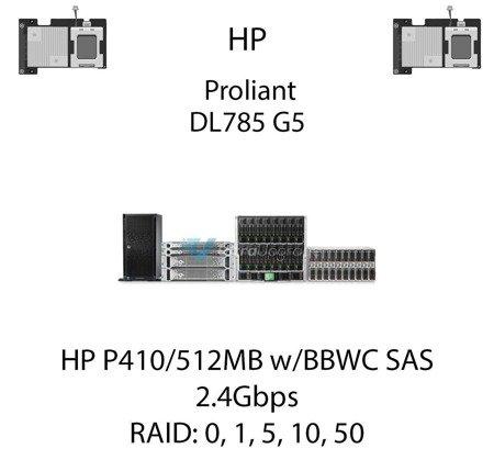 Kontroler RAID HP P410/512MB w/BBWC SAS, 2.4Gbps - 462864-B21