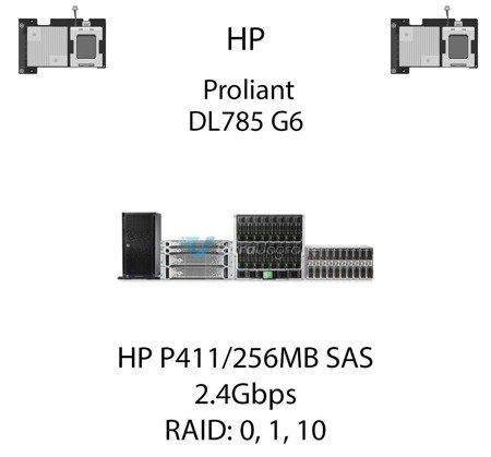 Kontroler RAID HP P411/256MB SAS  462830-B21, 2.4Gbps - 462830-B21 (REF)
