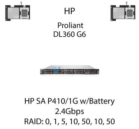 Kontroler RAID HP SA P410/1G w/Battery, 2.4Gbps - 572532-B21