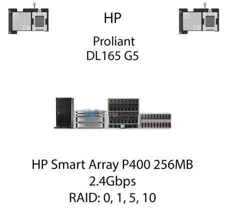Kontroler RAID HP Smart Array P400 256MB, 2.4Gbps - 405132-B21