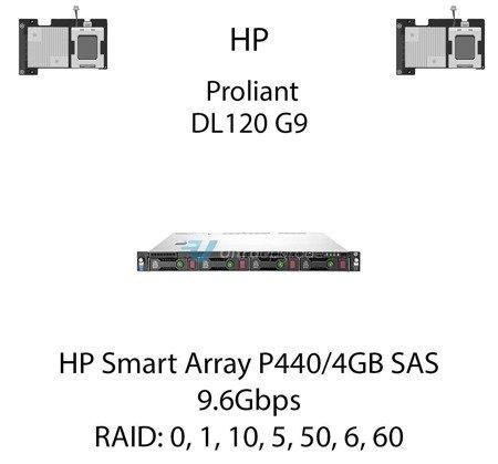 Kontroler RAID HP Smart Array P440/4GB SAS, 9.6Gbps - 726821-B21